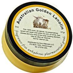 Lanolin, Anhydrous Lanolin Pharmaceutical Grade by Naturals New Zealand, http://www.amazon.com/dp/B000V70MWS/ref=cm_sw_r_pi_dp_szSesb17ZG070