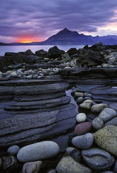 Elgol is a village on the shores of Loch Scavaig towards the end of the Strathaird peninsula in the Isle of Skye, in the Scottish Highlands.