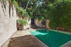 Pool & Rear garden