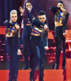 Little Mix performing DNA on Britain's X Factor