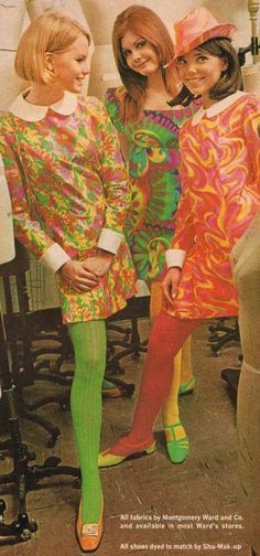 Mod 1960s fashion