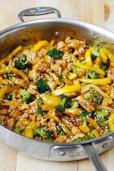 chicken dinners, gluten free dinner, chicken and vegetables