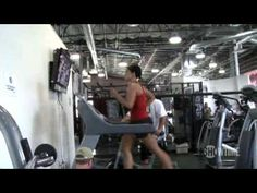 """Next time you're feeling exhausted during a workout, remember that it could always be worse: Gina Carano vs. """"Satan""""...nothing like training to literally kick ass!"""