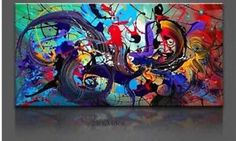 Modern Abstract hand-painted Art Oil Painting Wall Decor canvas