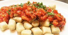 Nhoque de batata-doce com molho rústico | <i>Crédito: Divulgação