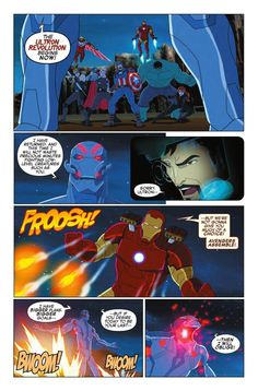 Preview: Marvel Universe Avengers: Ultron Revolution #2, Story: Joe Caramagna Publisher: Marvel Publication Date: August 3rd, 2016 Price: $2.99    ULTRON'S ULTIMATE SOLUTION!  Ultron's got the...,  #All-Comic #All-ComicPreviews #Comics #JoeCaramagna #Marvel #MARVELUNIVERSEAVENGERS:ULTRONREVOLUTION #previews