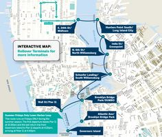 East River Ferry, $4/trip or full circle, $12 all day pass, $15 all day pass with bike.