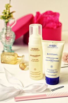 Favorite Aveda hair styling products at TidyMom.net
