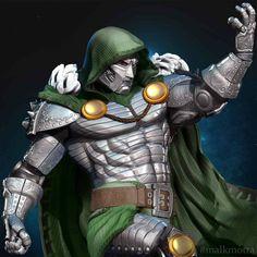 Victor Von Doom, What Team, Destroyer Of Worlds, Vin Diesel, Zbrush, Goblin, Marvel Universe, X Men, Saga