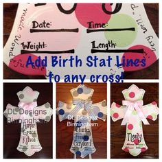 Add birth stats line to any hospital door by DLDesignsBirmingham, $7.00