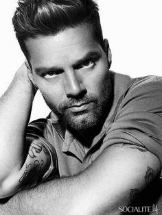 Ricky Martin For GQ Australia