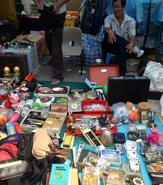 """The """"Thieves' Market"""", on Sungei Road, is Singapore's oldest flea market and a popular spot for locals and tourists alike..."""