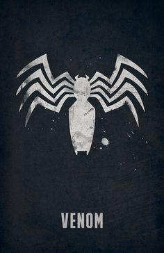 Venom Poster Spiderman Mavel by WestGraphics on Etsy