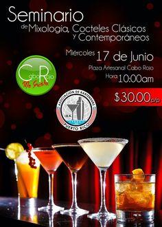 Seminario de Coctelería @ Plaza Artesanal  #prba #cocteleriapr #caborojo #plazaartesanal #bartenderspr