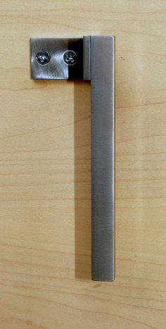 Cabinet Drawer Pull Minimal Modern Design by studioandolina