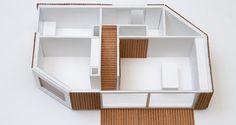 Blick ins Erdgeschoß des design.170. Der clevere Grundriss bietet viel Platz bei gesamt 150 m2. Shelves, House Design, Home Decor, Ground Floor, Floor Layout, Build House, Design For Home, Homes, Shelving