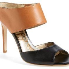 1817be67e155b Scotti Sam Edelman Sandal Heeled Mules Sandals
