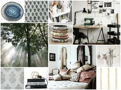 NATURAL STONE LINEN AGATE #moodboard