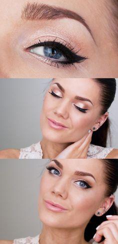 Pretty eye-liner form