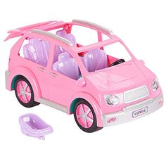 Take your doll family on a cruise through the country with the You & Me Happy Together Minivan, a Toys'R'Us exclusive! With its detailed pink exterior and . Barbie Car, Barbie Doll Set, Barbie Sets, Barbie Doll House, Barbie Stuff, Toy Cars For Kids, Toys For Girls, Kids Toys, Little Girl Toys