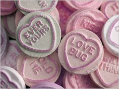 Love heart sweets ...now go forth and share that BOW & DIAMOND style ppl! Lol. ;-) xx