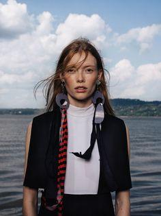 Julia Hafstrom by Sebastian Kim for Vogue Russia January 2016 9
