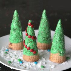 If you're on the hunt for fun Christmas activities for kids this holiday season, this list includes simple Christmas crafts, easy and cute treats to make together and fun holiday games to play! Christmas Treats To Make, Christmas Tree Brownies, Cone Christmas Trees, Christmas Snacks, Christmas Goodies, Simple Christmas, Holiday Treats, Holiday Recipes, Cone Trees