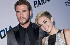 Alle Zeichen auf Hochzeit: Liam Hemsworth ist mit Miley Cyrus happy.