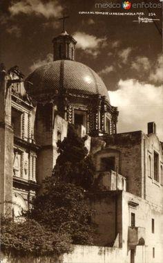 Fotos de Puebla, Puebla, México: Cúpula del Templo de la Soledad