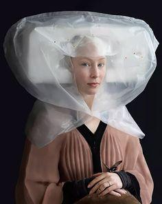 «Разум выше материи»: восхитительные фотопортреты в стиле эпохи расцвета голландской живописи