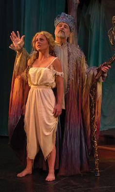 The Tempest, miranda and Prospero