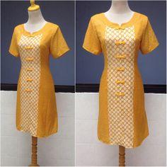 1940s Dresses, Casual Dresses, Blouse Batik Modern, Dress Brokat Modern, African Wear Styles For Men, Batik Fashion, Batik Dress, Clothing Patterns, Fashion Design