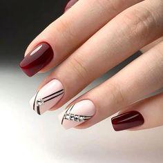 56 Stunning Nail Art Designs for Short Acrylic Nails - Page 16 of 56 - TipSilo Latest Nail Designs, Nail Art Designs Videos, Best Nail Art Designs, Short Nail Designs, Diy Nails, Cute Nails, Pretty Nails, Perfect Nails, Gorgeous Nails
