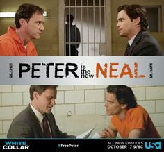 But this was literally an episode :P where neal pretended to be peter and it was priceless