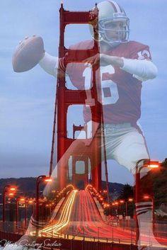 "Nation SF Niners San Francisco Niners for Life! ""The Golden Great"" aka cool Joe, golden Joe and the comeback kid! Niners Girl, Sf Niners, Forty Niners, Nfl 49ers, 49ers Fans, 49ers Nation, Best Football Team, Nfl Football, Football Memes"