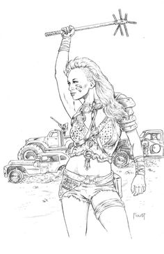 Mad Max Chick ªby Mitch Foust