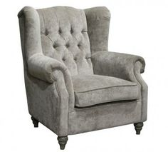 Phillipe Wingback Chair. A Block and Chisel Product.