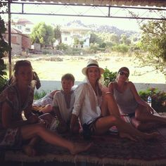 Invited for tea in rural Turkey  with #TerezaMaxova (literally in someone's farm!)