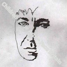 Alan Rickman's self-portrait for the Prince's Foundation for Children and the Arts.