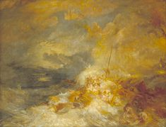 A Disaster at Sea Joseph Mallord William Taylor