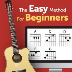 Free Online Guitar Lessons - Easy Step-by-Step Video Lessons Best Online Guitar Lessons, Learn Guitar Online, Guitar Lessons For Kids, Guitar Songs For Beginners, Easy Guitar Songs, Ukulele, Guitar Strumming, Learn Guitar Chords, Learn To Play Guitar