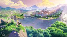 Wallpaper Animes, Wallpaper Backgrounds, Wallpaper Pc Anime, Wallpaper Bible, Iphone Backgrounds, Breath Of The Wild, The Legend Of Zelda, 1366x768 Wallpaper, Action Rpg