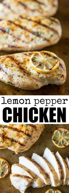 This easy Lemon Pepper Chicken is great on the grill, on the stove, or in the oven. Dinner is solved in 30 minutes or less, and it's delicious!