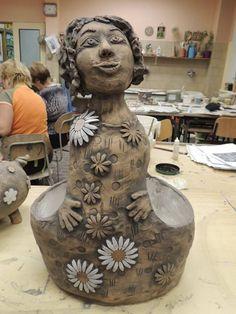 Ceramic Angels, Panna, Vase, Home Decor, Decoration Home, Room Decor, Vases, Home Interior Design, Home Decoration