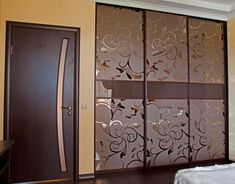 ideas glass sliding door wardrobe room dividers for 2019 Wardrobe Interior Design, Wardrobe Design Bedroom, Bedroom Bed Design, Bedroom Furniture Design, Home Room Design, Modern Bedroom Design, Wardrobe Laminate Design, Sliding Door Wardrobe Designs, Module Design