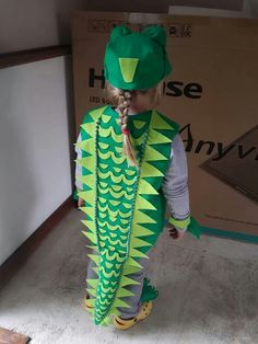 Crocodile Costume Crocodile Costume Alligator Costume Diy Diy No Sew Alligator Costumes Click Through For Details Diy Crocodile Costume The Clock O Dile Crocodile Costume Diy Costumes Kids Diy Costumes Crocodile Costume The Enormous Crocodile… Alligator Costume, Dinosaur Costume, Best Kids Costumes, Up Costumes, Animal Costumes, Halloween Costumes For Kids, Toad Costume, Jungle Costume, Crocodiles