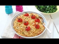 A delicious and kid-friendly Baked Cheese & Tomato Risotto recipe, cooked in the oven to make it super easy! When it comes to comfort food you can't beat a delicious and warming risotto. There's nothing better than a big bowl of steaming creamy rice when its cold and wet outside. But as much as I...Read More »