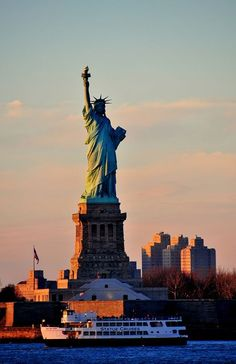 I just have to see Statue of Liberty once in my life cz it stands for freedom! #MustiXiGO