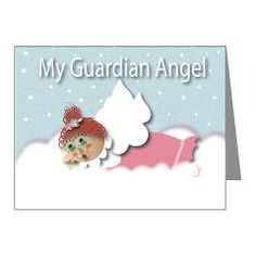 Raggedy Isabella Guardian An Note Cards (pk Of 10) > Raggedy Isabella > Angelic Inspirations J.L. Designs