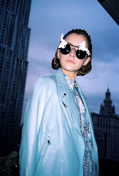 Collectors Love Love Love MERCURA NYC Eyewear & Bo: I-D Magazine May 2013 Features Mercura NYC I-D Magazine May 2013 Photographer: Marco Torres Styling: Ashley Abtahie Styling Assistants: Brandon Giordano and Jerome Ison Model: Teresa Oman @ Re:Quest Model Management / The Agency Australia Make-up: Dana Rae Ashburn Hair: Jeanie Syfu Baroque sunglasses by Mercura NYC — in United States.